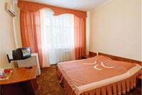 Двухместный стандартный номер пансионата 'Корона', Евпатория, Западный Крым - путевки и отдых.