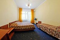Двухместный стандартный номер с дополнительным местом пансионата 'Корона', Евпатория, Западный Крым - путевки и отдых.