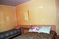 Номер в пансионате 'Меркурий-2', в Заозерном, Евпатория, Западный Крым