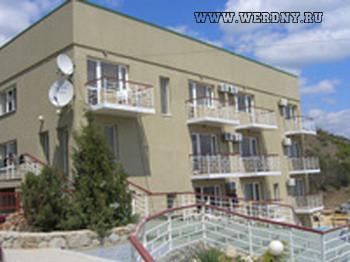 Отель Морской, Алушта, Крым, Черное море.