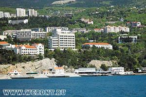 Cанаторий «Сосновая роща», п. Гаспра, Ялта, Крым