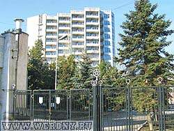 "Санаторий ""Феодосийский ЦВКС"" Феодосия, Крым, Россия."