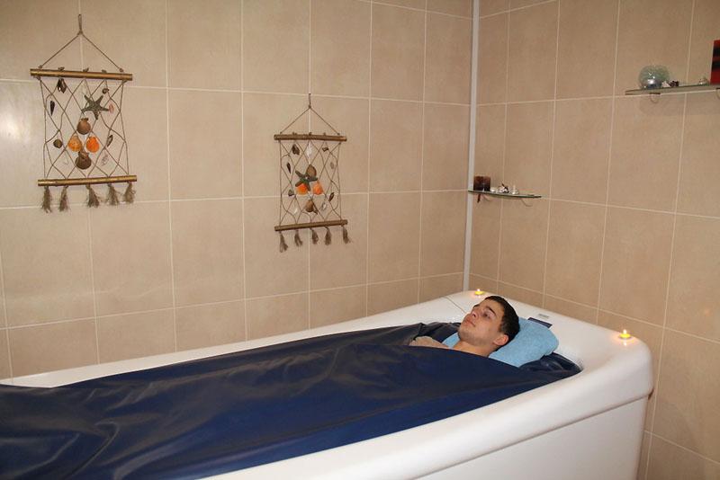 Водные процедуры в SPA-центре отеля 'Вилла Арго', Алушта, Южный берег Крыма - путевки и отдых.