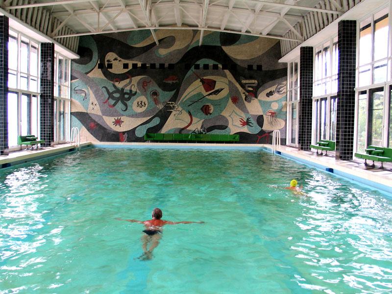 Фото бассейна, Айвазовское, Алушта, Крым - путевки и отдых.