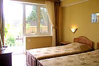 Номер категории Стандарт 1, 'Камелот' отель, Алушта, Южный берег Крыма - путевки и отдых.
