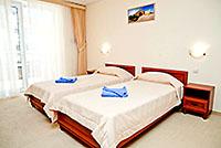 Номер категории Стандарт 2, 'Камелот' отель, Алушта, Южный берег Крыма - путевки и отдых.