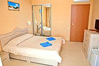 Номер категории Стандарт 3, 'Камелот' отель, Алушта, Южный берег Крыма - путевки и отдых.